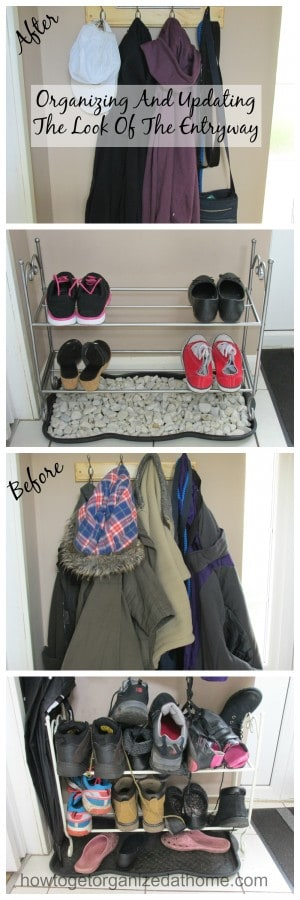 Organizing And Updating The Look Of The Entryway