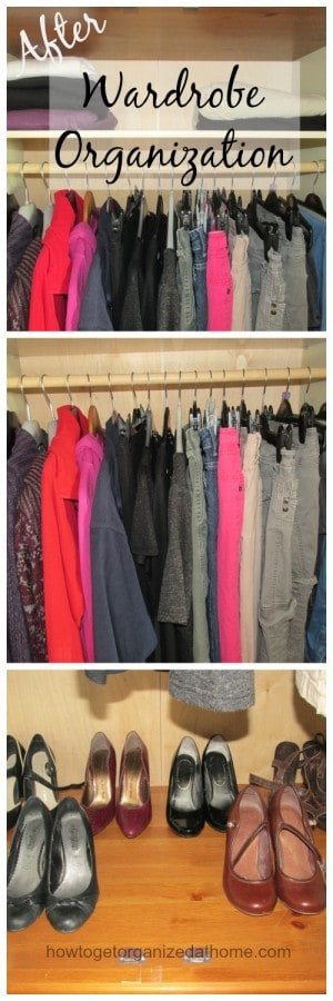 Have I Lost Control Of My Wardrobe Organization (After)