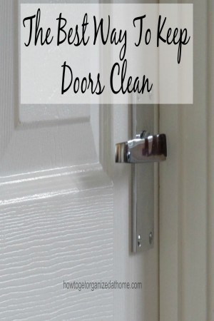 It is important to keep your doors clean, not only will it make your home look good it can also make you feel good when you come home to a clean door.