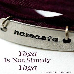 Yoga Is Not Simply Yoga