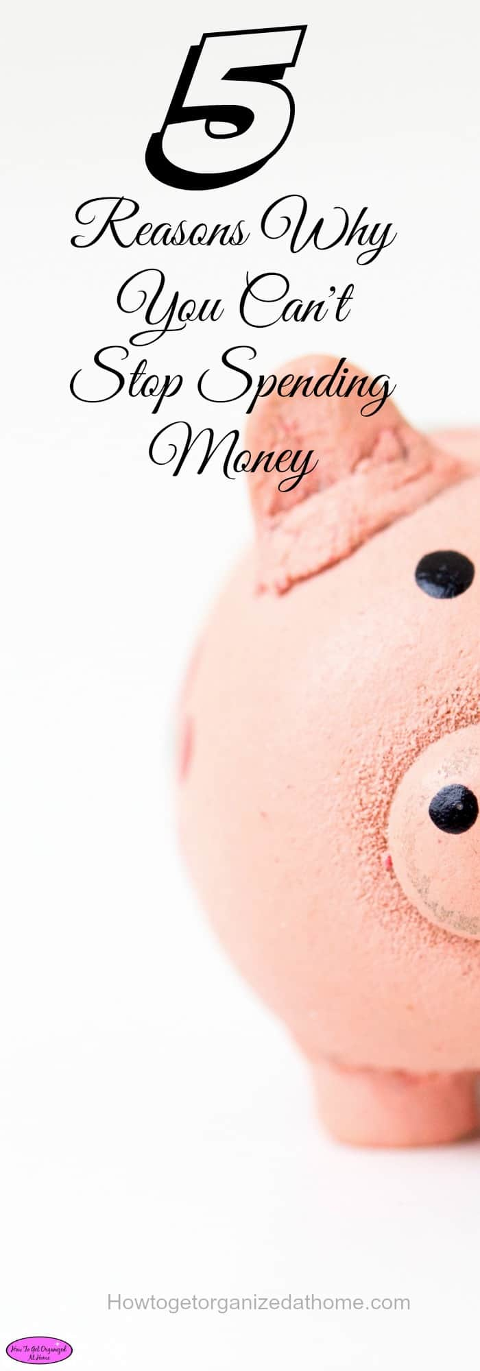 If you can't stop spending money then you will run in to financial difficulties at some point. It is easy to take control if you know how.