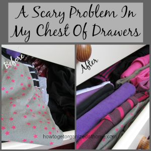 A Scary Problem In My Chest Of Drawers