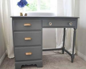 An Old School Desk Gets A Whole New Look