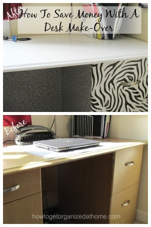 How To Save Money With A Desk Make-Over