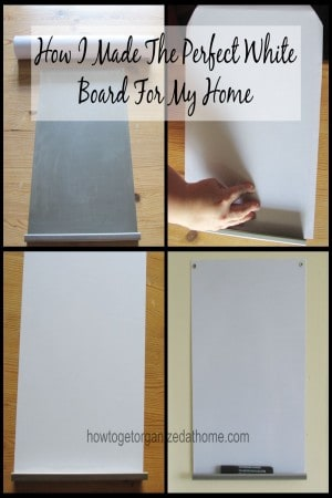 How I Made The Perfect White Board For My Home
