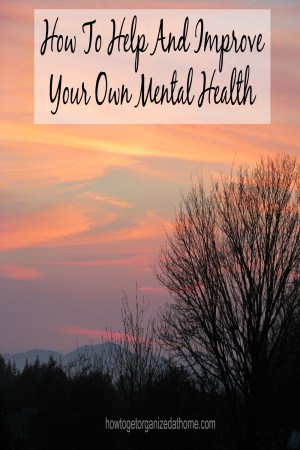 Your mental health is an important area that you must take seriously and not push it to one side hoping those feelings will go away.