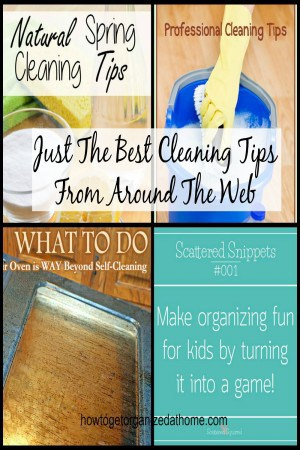 Just The Best Cleaning Tips From Around The Web