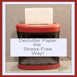 Stress-Free Paper Decluttering