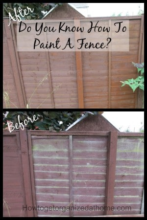 Do You Know How To Paint A Fence?