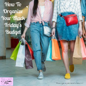 How To Organize Your Black Friday's Budget