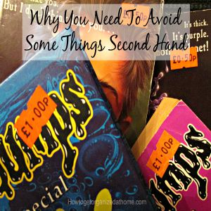 Why You Need To Avoid Some Things Second Hand