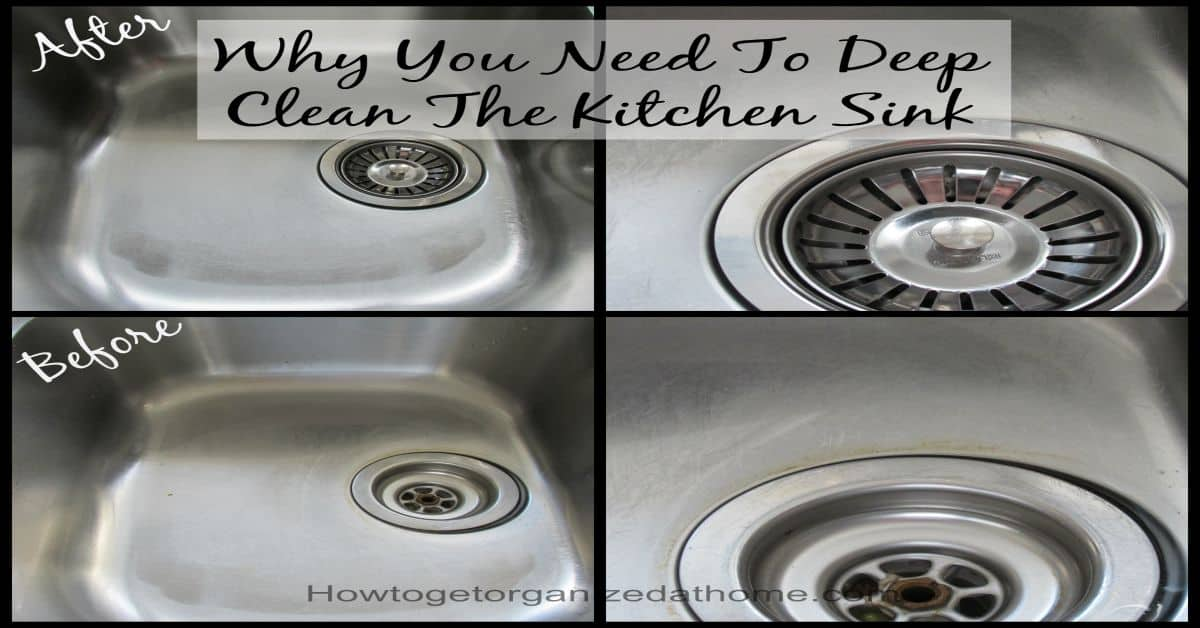 Germs From Washing Dishes In The Kitchen Sink