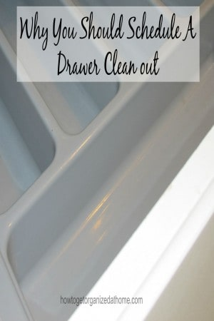 Why You Should Schedule A Drawer Clean out