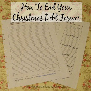 How To End Your Christmas Debt Forever