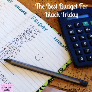 Prepare for Black Friday and set a budget! Organize your money and create an amazing plan for your shopping experience!