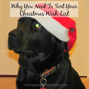 Why You Need To Sort Your Christmas Wish List