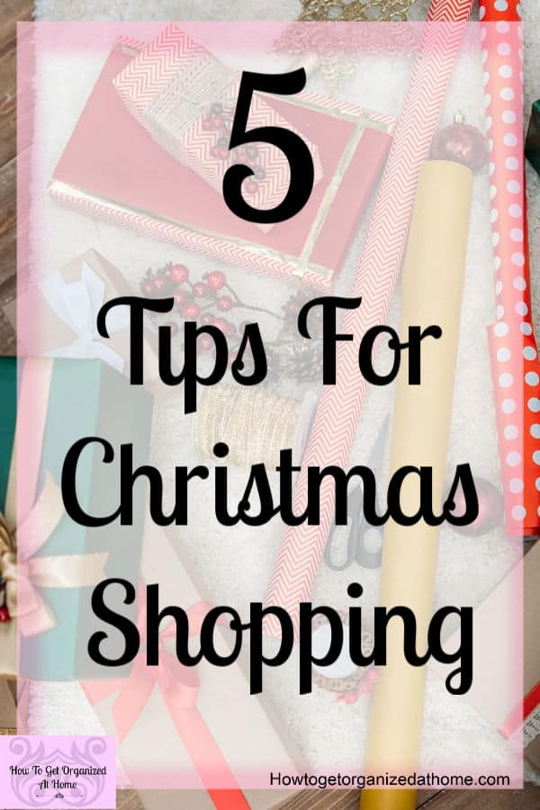 When it comes to Christmas shopping there are tips that will help you do this without all the stress! These tips work, I use them all year when it comes to any major shopping trip!