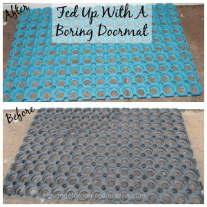 Fed Up With A Boring Doormat