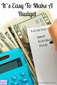 How to make a personal budget is simple! Grab the printable to help you get started!