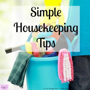 Become the domestic Goddess you've always wanted to be with these 3 housekeeping tips!