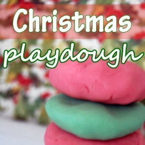 Christmas Playdough