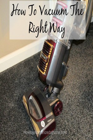 How to vacuum the right way and to ensure that your carpets are kept as clean as possible. Click the link to find out the right way to vacuum.