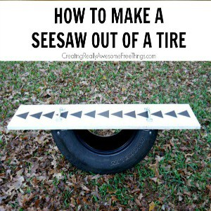 How To Make A Seesaw Out Of A Tire