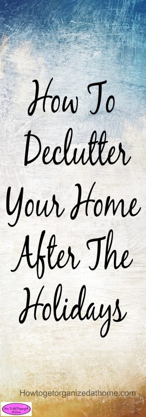 Knowing how to declutter your home is important! Planning the process and doing it right is less stressful. Click the link to see how this will work for you! It does work!
