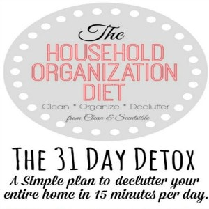 The 31 Day Household Detox {2016}