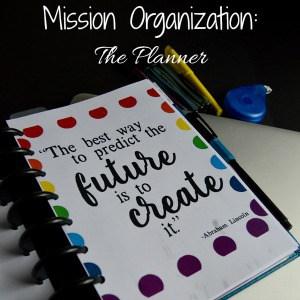 Mission Organization: Planner