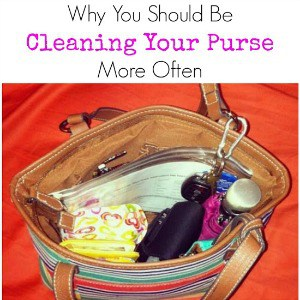 Why You Should Be Cleaning Your Purse More Often