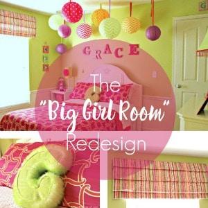 The Big Girl Room Redesign Bedroom Makover