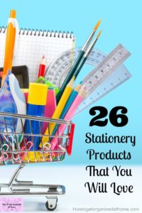 26 fun and useful stationery items that you will love to use!