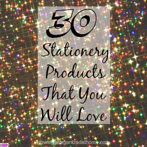 30 stationery products that you will love! They are practical products that you can use daily making them good value as well as great stationery to use.