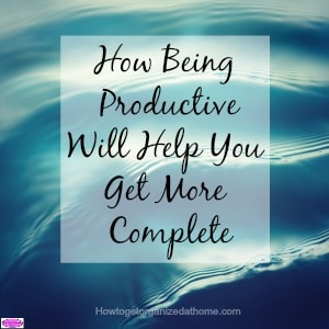 Being productive will help you complete more tasks and make your day a positive one. There are tips you can use to help focus your mind on the task.