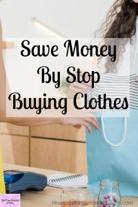 Can you make huge savings on clothes shopping? Yes, if you know what you want and can control those impulse purchases that you never wear! You could even sell your clothes you no longer wear!