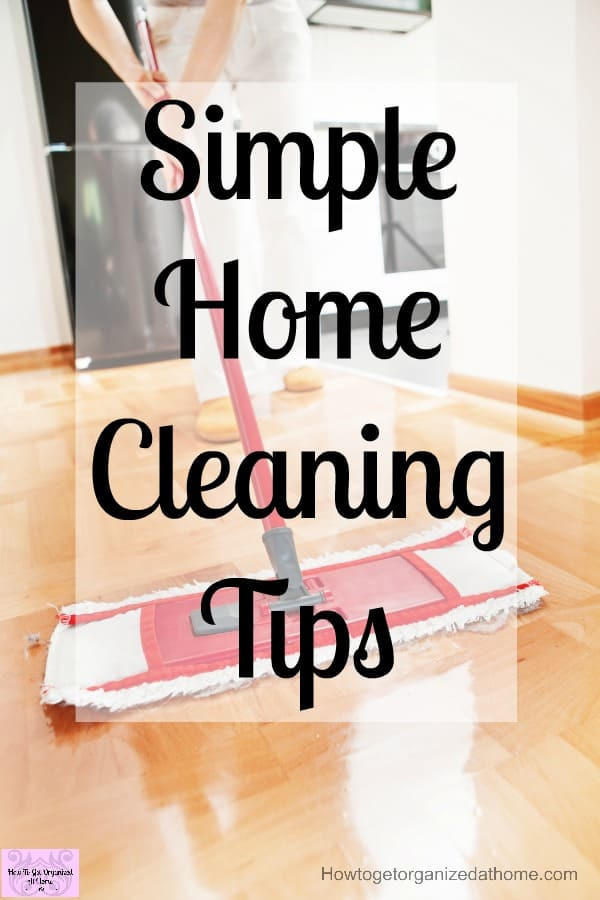 If you want simple home cleaning tips and ideas you've come to the right place! Building these habits and routines into your life will help your home to stay clean!