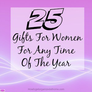 Buying gifts for women doesn't have to be difficult, here is a selection of gifts that you can use to give you ideas for the women in your life.