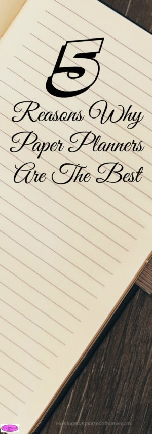 Paper planners are the best, you are not short of choice or style and you can even download and print some planners for free.