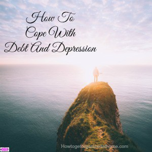 How To Cope With Debt And Depression