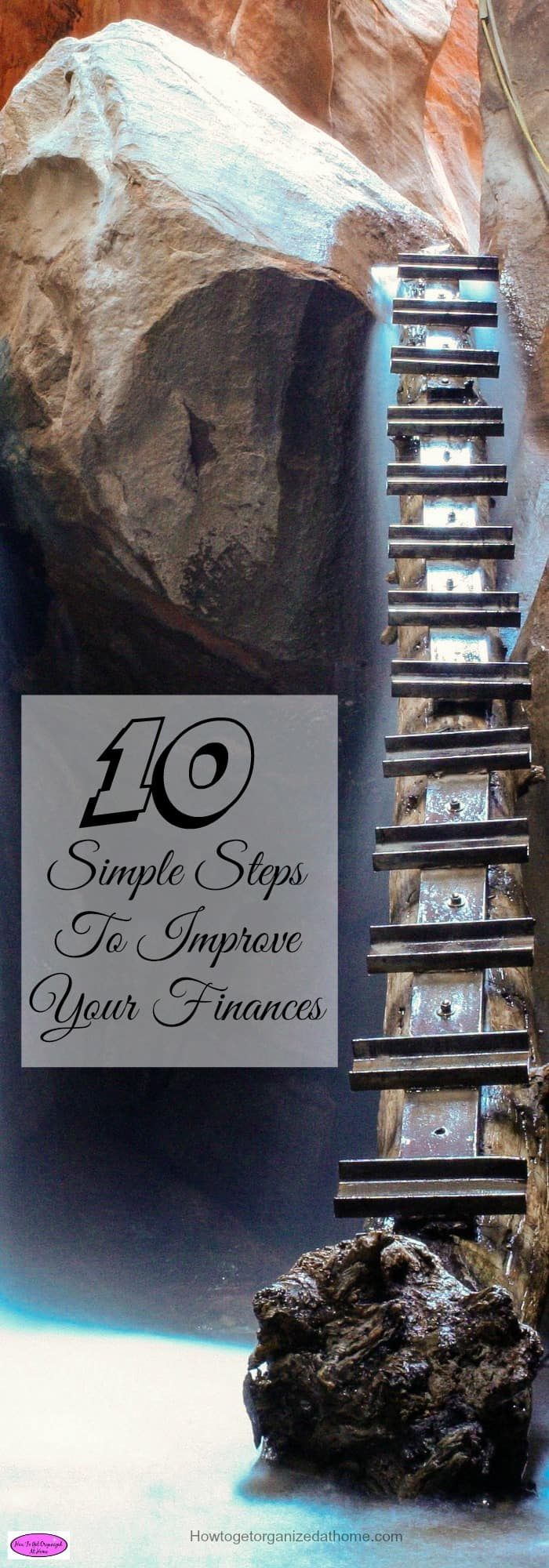 Follow these 10 simple steps to improve your finances and to see your money working for you instead of against you. It isn't as hard as you might think!