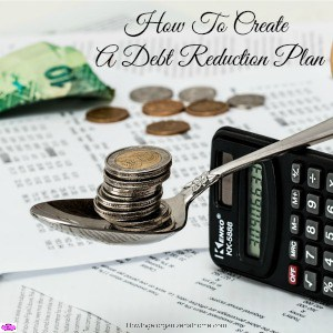 Creating a debt reduction plan is a great way to set out your financial intentions relating to your debt. It can help you focus on the important areas!