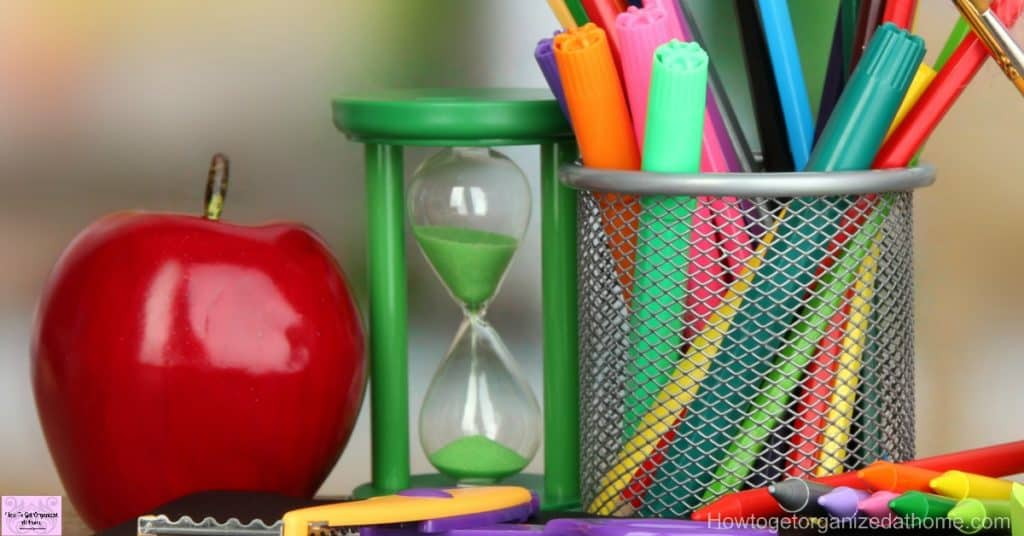 Don't put your back to school supplies on credit! Take action and create your budget now!