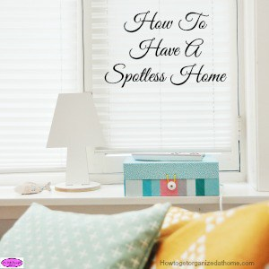 If you are looking for a spotless home, one that looks clean and feels clean will depend on your interpretation of clean and how much time you have.