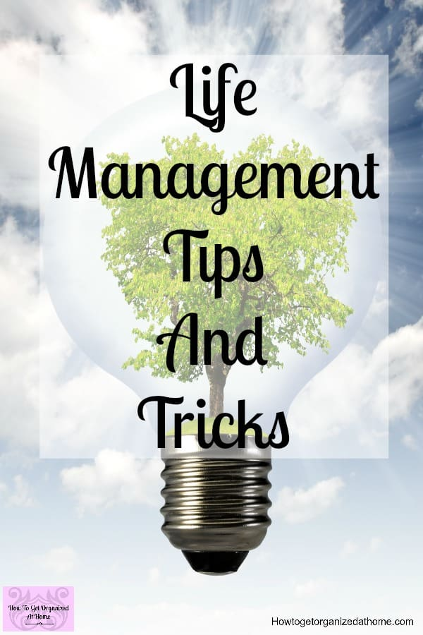 Do you need life management ideas and tips to improve your time management? These tips will help you focus on your goals and dreams