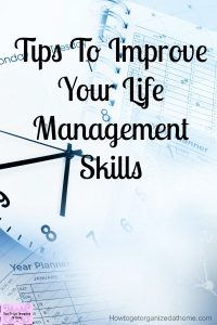 Life management skills and tips are important if you are looking to create the balance between work and home! There are so many pressures on you that by taking control of your life and create rules and routines it makes life less stressful too!