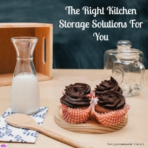 Finding the right kitchen storage solutions for you can add to your kitchen! They can even be stylish storage solutions that complement your decor!