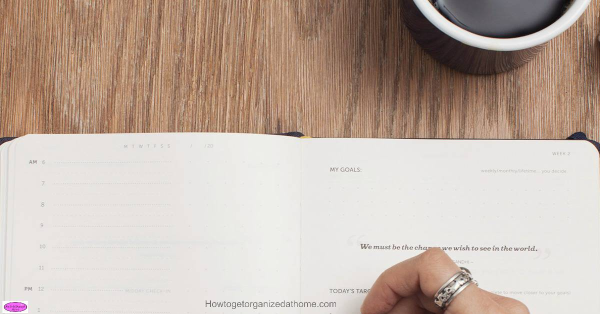 Ways day planners can help you organize your life might surprise many people, they are a powerful tool. They can help identify what you need to do and when!