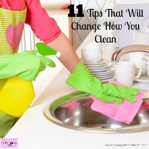 Changing how you clean can make you fall in love with cleaning and how your home looks!