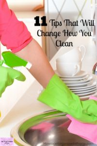 Changing how you clean and the tools you use can help you get the most out of each cleaning session!